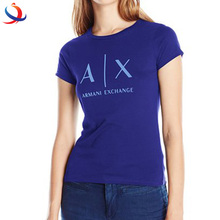 Good Quality Womens Slim Fit T Shirt With 95 Cotton 5 Spandex Material