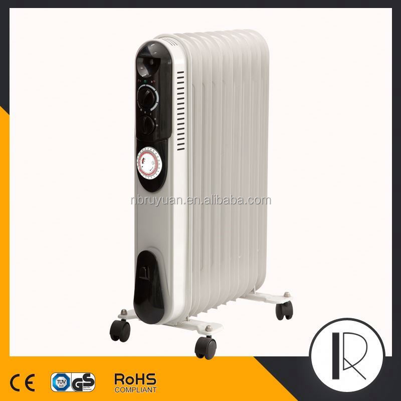 071802 Oil filled heater with timer, 13 fins oil filled radiator heater