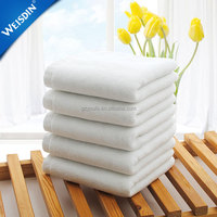 High quality wholesale luxury white hotel bathroom face terry towel 100% cotton bath towel