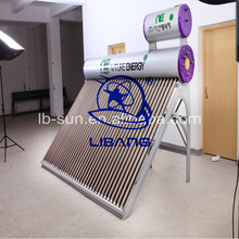 Excellent Quality 2016 China Pressurized type 300L Built-in Copper Coil Pipe Pressure Solar Water Heater with 36 tubes