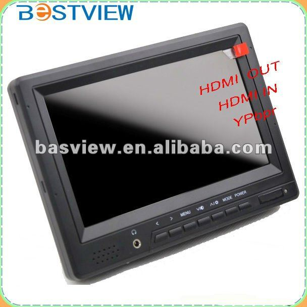 Camera shooting 7 INCH HD MONITOR WITH HDMI Output,