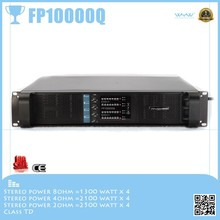 Ture studio quality sound, 2U FP10000Q, switching Power Amplifier 4 Channel Line Array