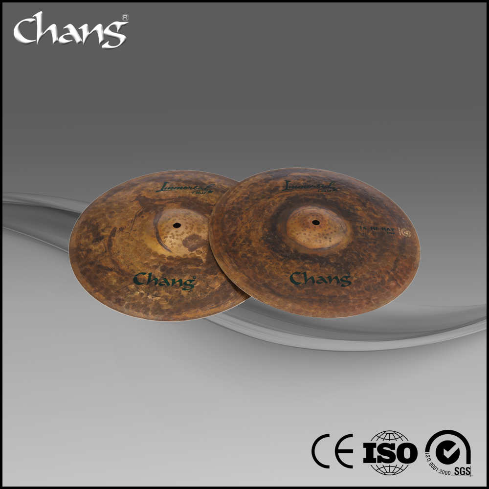 CHANG hand made Immortal raw B20 Cymbals set for drum percussion