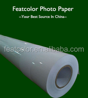 Bulk high quality roll glossy photo paper for plotter