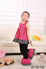 wholesale baby boutique clothing hot pink floral cheap cheap used clothing used clothes yiwu
