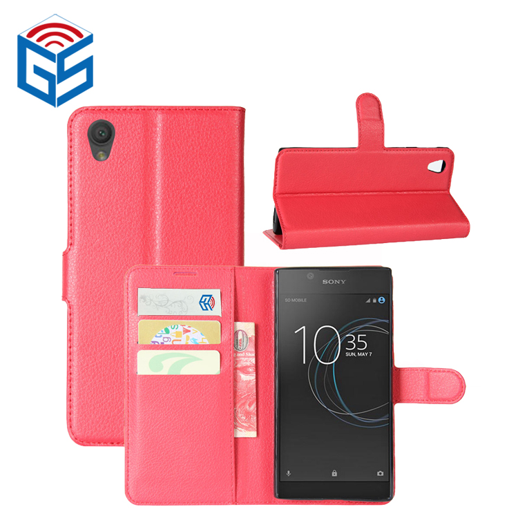 2018 Trending Products PU Flip Leather Cover For Sony Xperia <strong>L1</strong> G3311 G3313 <strong>Phone</strong> Case