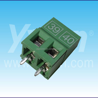 2pin number 39&40 green color wire to board connector Terminal Block