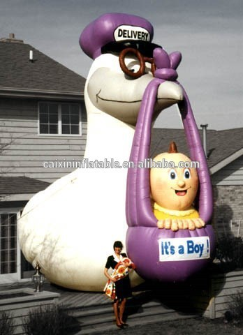 inflatable giant goose for delivery advertising/ inflatable advertising goose/ air blow goose balloon