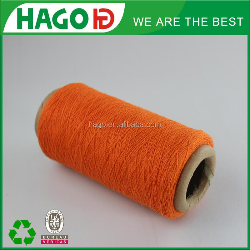 Free sample 16s orange cone cotton combed yarn for making socks
