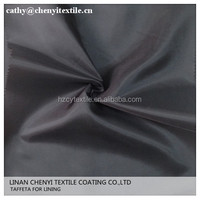 china manufacturer 100 polyester lining fabric