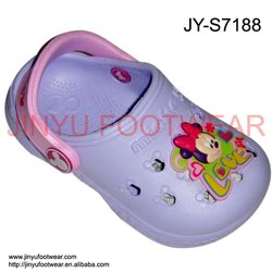 Minnie cute kid garden shoe