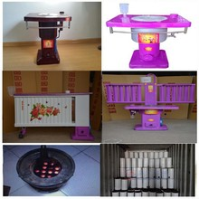 Factory direct sale home use cooking wood coal burning stove