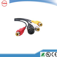 vga 15pin to 3rca male to male vga rca cable