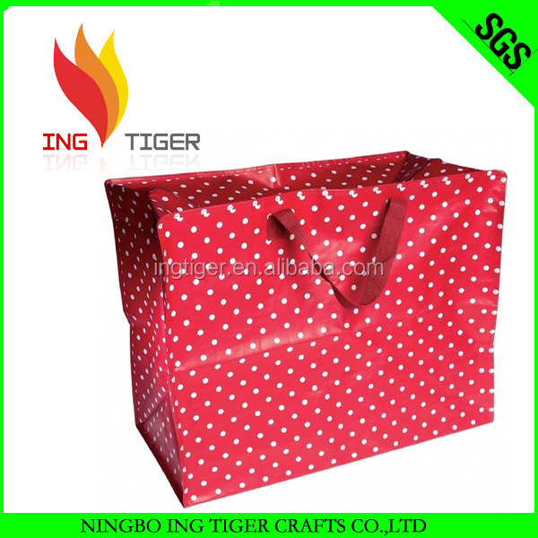 2016 Hot Sales For Promotion Imprint Customized Logo Eco Friendly Shopping pp non woven jumbo bag malaysia