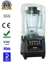 2017 Professional Heavy Duty Quiet Commercial blender with sound cover/food mixer juicer processor