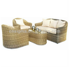 modern garden furniture comfort sofa chair wicker armchairs