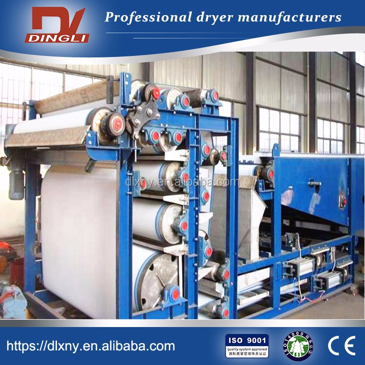 24 hour Working DingLi Belt Type Alfalfa Dehydrator for USA Russia Argentina Market