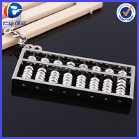 Metal Alloy Abacus Beautiful Keyring
