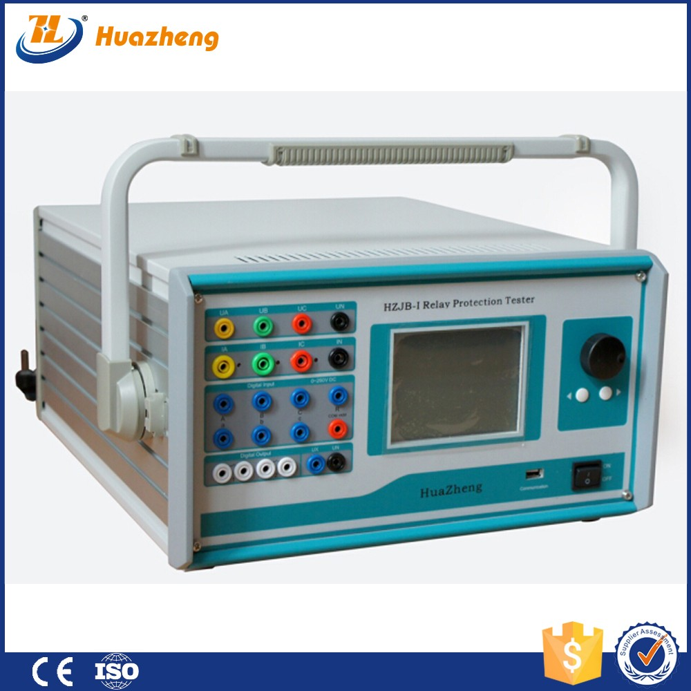 China Low Price Micro Computer Control Automatic 3 Phase Relay Protection Tester