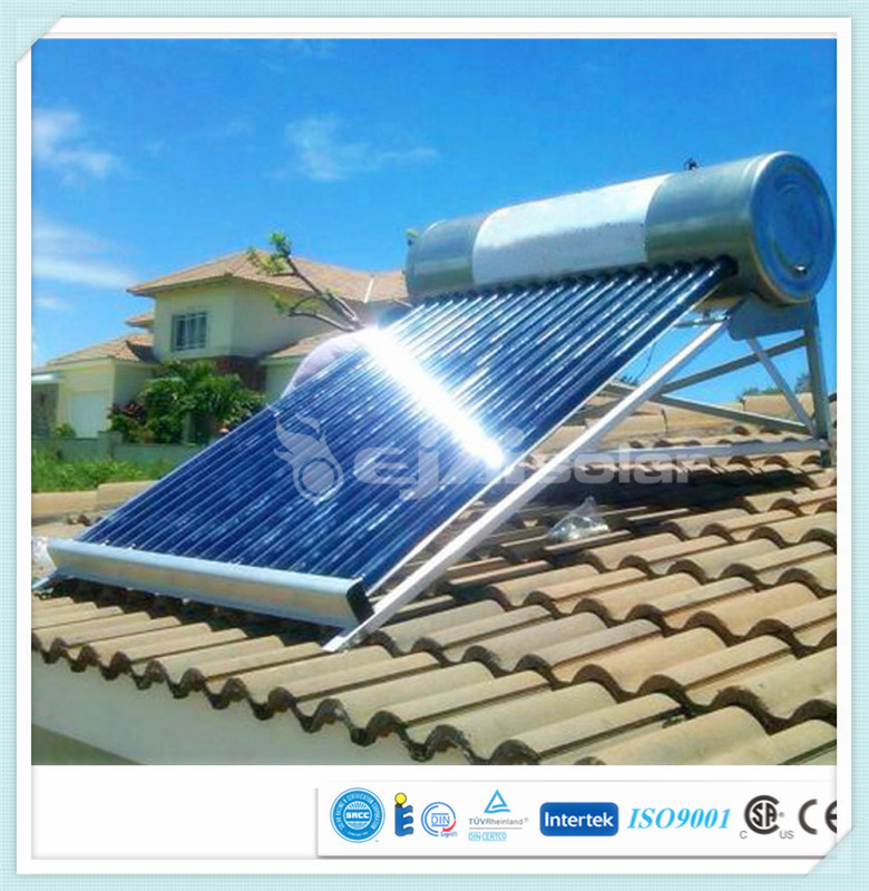 Low pressure Solar Water Heater DIY for Home & Business