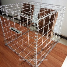 Factory price 2*1*1m galvanized welded gabion basket boxes for retaining wall
