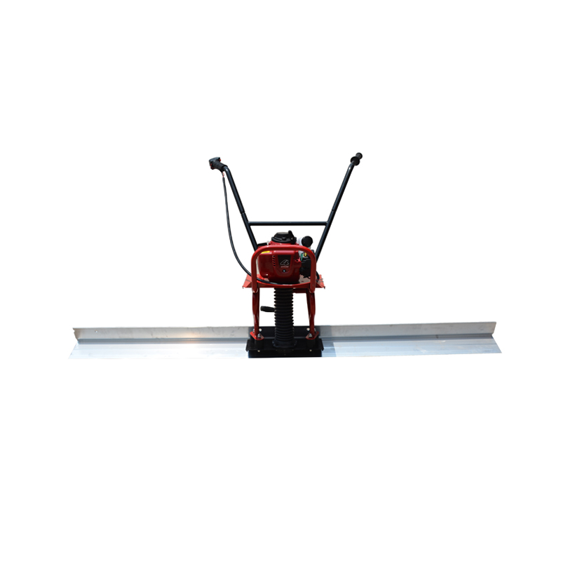 Road paver leveling machine