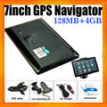 7 inch Portable Car GPS With Free Navigtion map