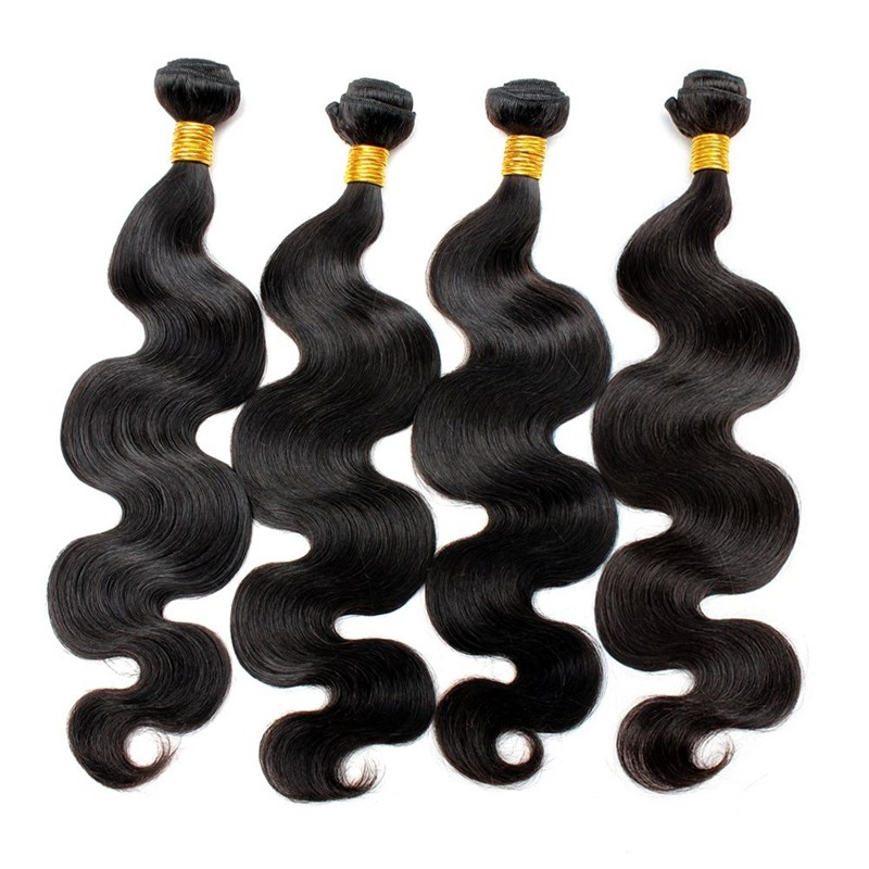 Chinese factory direct sale human hair budles wholesale price hot sale style body wave natural color brazilian hair extensions