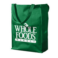 Customized full color promotional shopping laminated non woven tote bag