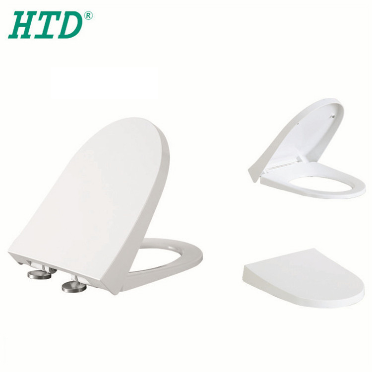 Best Guide Elongated Closed Front Toilet Seat Fitting in White