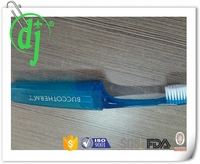 new design soft rubber adult toothbrush/hotel dental kit