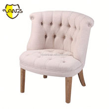 American style fabric nailhead trim relax chair with high quality