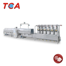 low cost high benifit sandwich meat/fish ball making line/production line