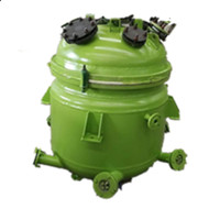steam heating vertical pressure jacket industrial batch machine tank vessel glass lined mixing small production resina tractor