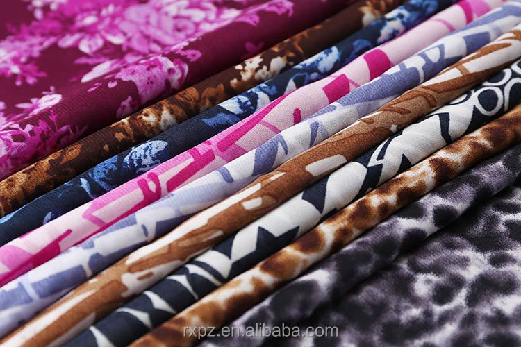 Textile fabrics supplier Cheap african print dress chiffon fabric