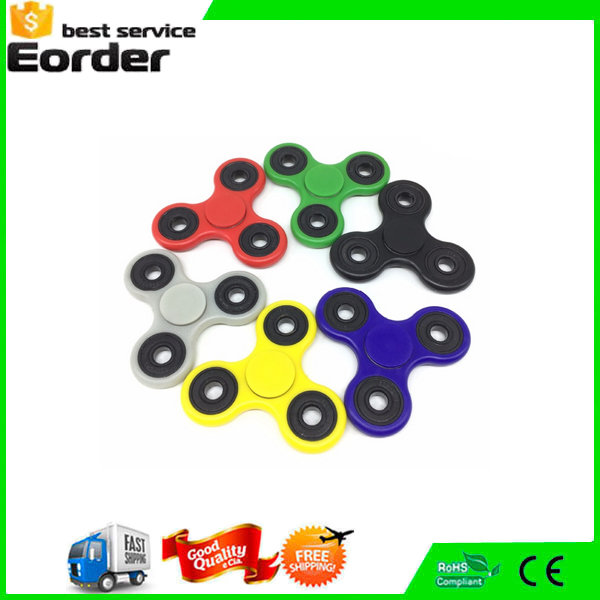 China Cheap Hand Spinner Plastic Hand Fidget Spinner Toy