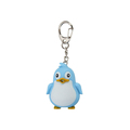 OEM plastic mini toy keychain with penguin shape