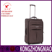 2016 new design luggage sets suitcase trolley bag for leisure travel