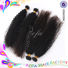 Wholesale 100% virgin unprocessed mongolian human hair russian curly