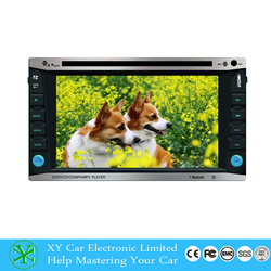 GPS navigation Car DVD Player,car dvd player with reversing camera XY-D1262