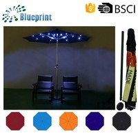 solar charger big outdoor large sun umbrella parts led light