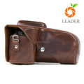 Protector PU Leather Digital Camera Case Lens Grip Cover Bag