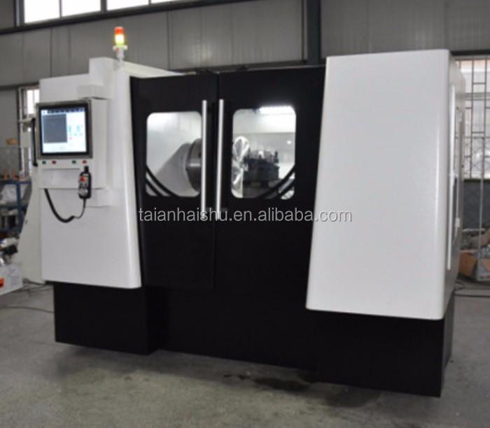 Simple operation CK6180W alloy wheel cnc lathe