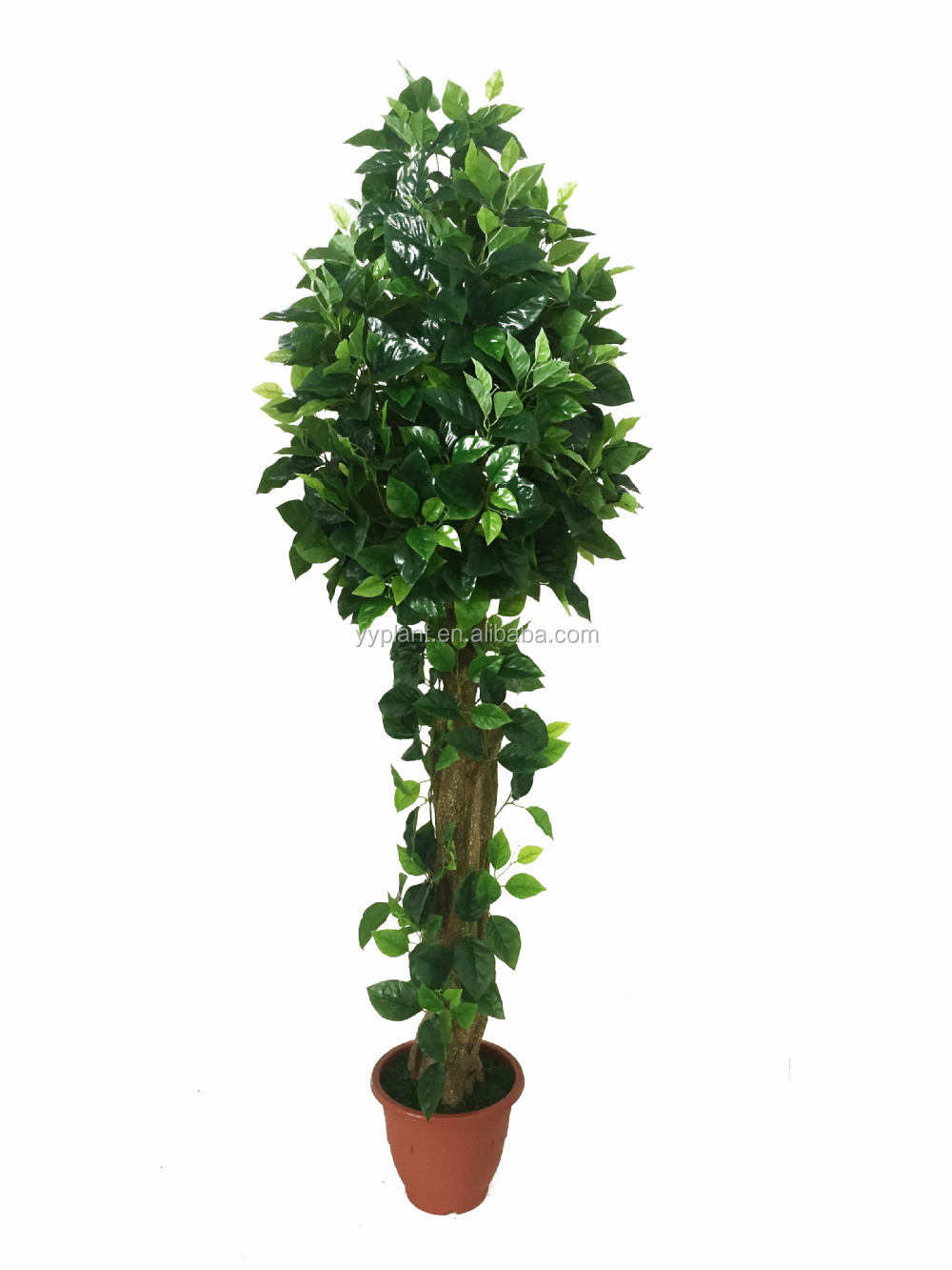 China cheap artificial palm tree leaves artificial ficus for Cheap trees
