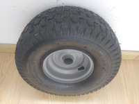 pneumatic wheels for garden tools 15X6.00-6
