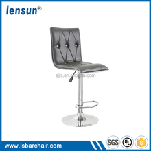 Favorable price commercial used cheap modern round adjustable footrest bar stool