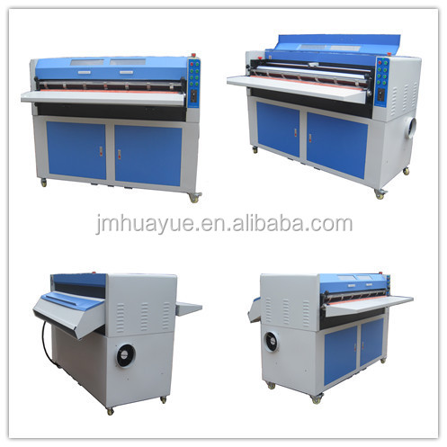 High quality and efficient 53inch big uv varnishing machine