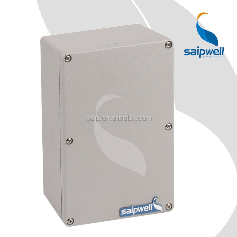 Outdoor IP66 Electronic Din Rail Aluminium Enclosure (SP-AG-FA3)