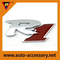 R1 chrome color all car badges and names