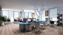 Happy tree type workstations/office staff desks/modern round office desk round edge workstation